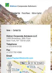 Kidron LLC