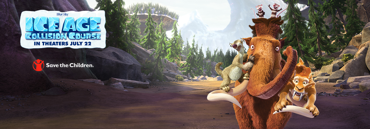 Save the Children partners with Ice Age: Collision Course